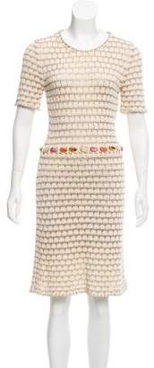 Christian Dior Embellished Knit Dress