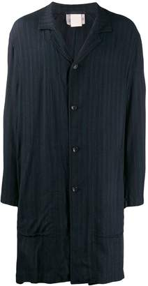 Comme des Garcons Pre-Owned 1990's pinstriped oversized coat