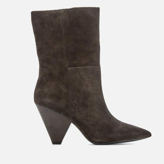 Ash Women's Doll Suede Heeled Boots