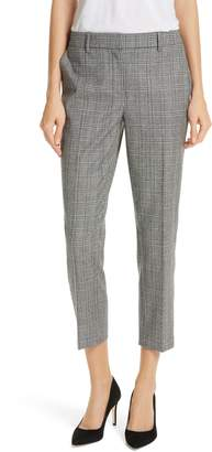 Nordstrom Signature Check Crop Pants