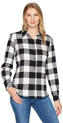 Dickies Women's Long Sleeve Plaid Shirt