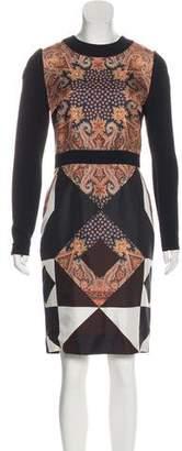 Givenchy Silk Paisley Print Dress