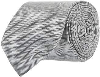 Eton Diagonal Herringbone Tie