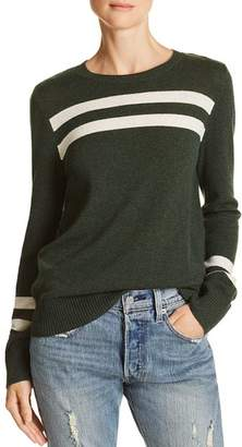 Rebecca Minkoff Marlowe Striped Merino Wool & Cashmere Sweater