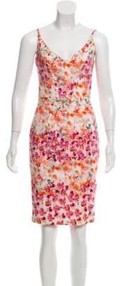 Black Halo Floral Knee-Length Dress w/ Tags