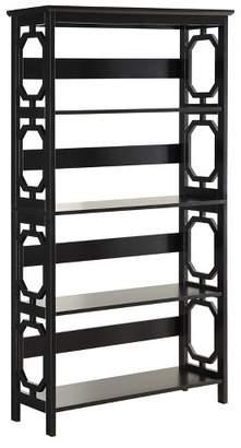 "Convenience Concepts Omega 5 Tier Bookcase 59.75"" - Convenience Concepts®"