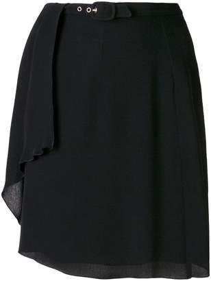 Giorgio Armani (ジョルジョ アルマーニ) - GIORGIO ARMANI PRE-OWNED ベルテッド スカート