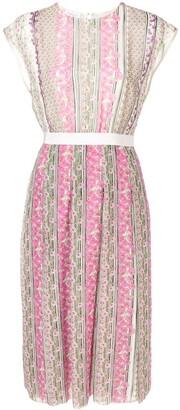 Giambattista Valli sleeveless floral midi dress