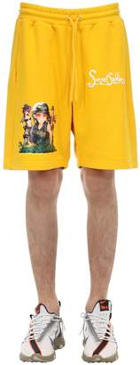 Sunset Soldiers Apocalypse Cotton Shorts