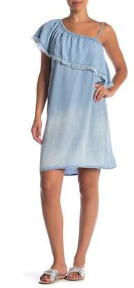 Velvet Heart Fergie Asymmetrical Chambray Dress