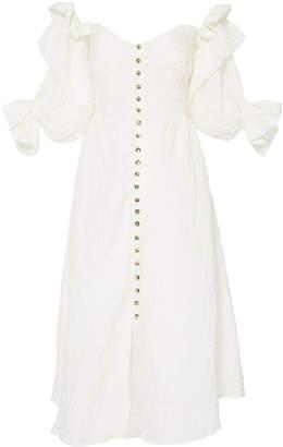 Cult Gaia Simona Off-The-Shoulder Midi Dress