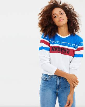 Tommy Jeans New York Racing LS Tee
