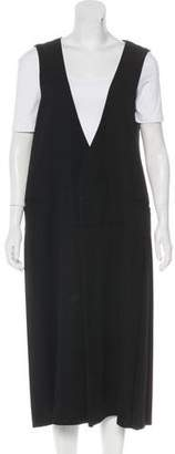 Limi Feu Pleated Wool Vest