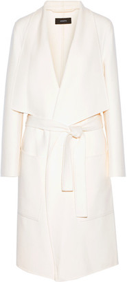 Joseph - New Live Wool And Cashmere-blend Coat - Cream $1,190 thestylecure.com