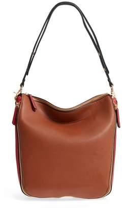 Sondra Roberts Colorblock Faux Leather Hobo