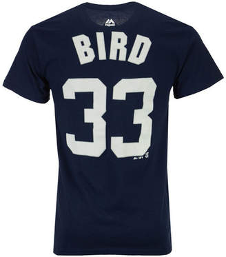 Majestic Men Greg Bird New York Yankees Official Player T-Shirt