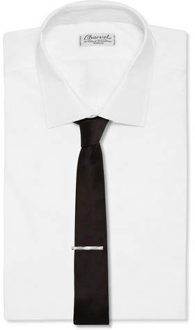 Lanvin Ruthenium-Plated Tie Clip
