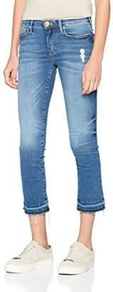 True Religion Women's Halle Modfit Blue Denim Skinny Jeans,W31/L32