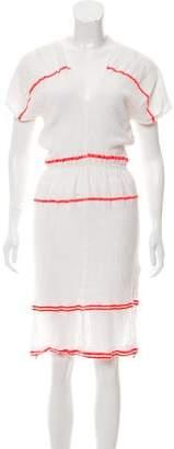 Lemlem Embroidered Midi Dress