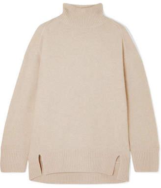 Vince Cashmere Turtleneck Sweater - Beige