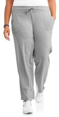 Athletic Works Women's Plus OPP Knit Pant