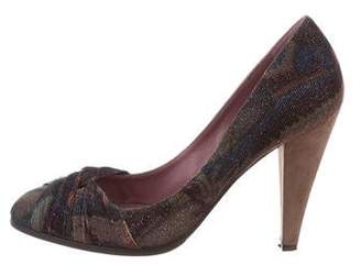 Missoni Printed Round-Toe Pumps