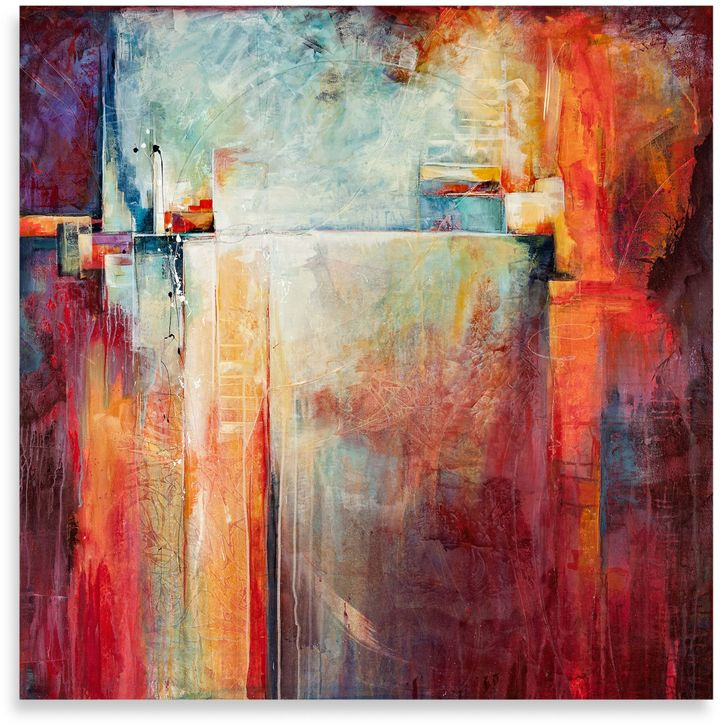"""Bed Bath & BeyondKaren Hale """"Energized"""" Canvas Print"""