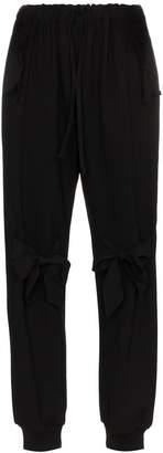 Simone Rocha Track Bow Embellished trousers