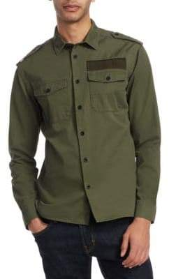 Kent & Curwen Tesher Military Button-Down