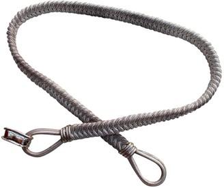 Saint Laurent Vintage Silver Metal Belts