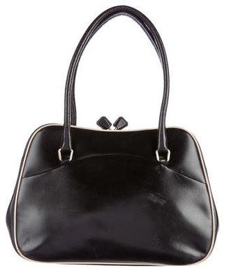 Prada Leather Frame Bag $205 thestylecure.com