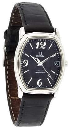 Omega Automatic Prestige De Ville Tonneau Watch black Automatic Prestige De Ville Tonneau Watch