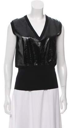 Louis Vuitton Sleeveless V-Neck Top