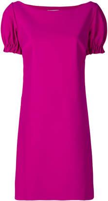 Chiara Boni ruched sleeves dress