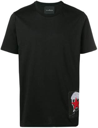 John Richmond Bowie patch T-shirt