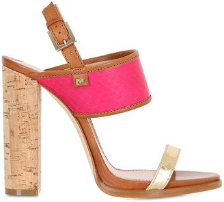 110mm Ayers & Leather Sandals $770 thestylecure.com