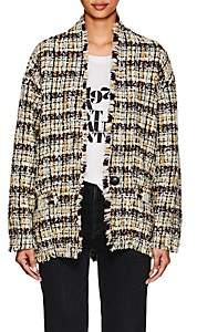 Isabel Marant Women's Iliana Wool Bouclé Tweed Coat