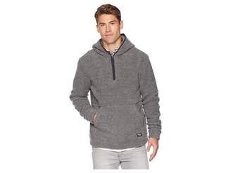 UNIONBAY Turner Cozy 1/4 Zip Popover Hoodie Men's Sweatshirt