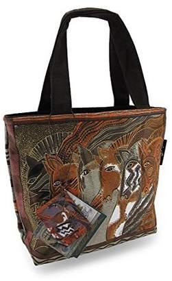 Laurèl Burch Horses Moroccan Mares Mini Tote Bag Purse