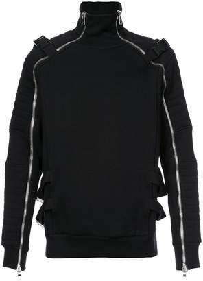 Balmain zipped sweater