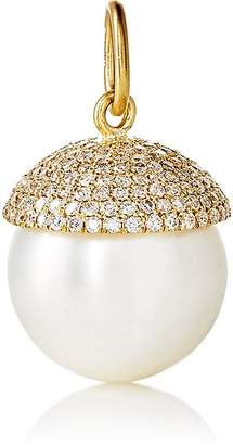 Irene Neuwirth Women's White Diamond & Pearl Pendant