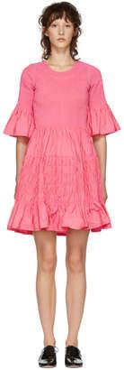 Molly Goddard Pink Suzanne Dress