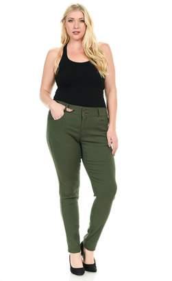 926 Women's Jeans - Plus Size - High Waist - Push Up - Style W1506