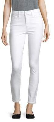Paige Hoxton High-Rise Ankle Skinny Jeans