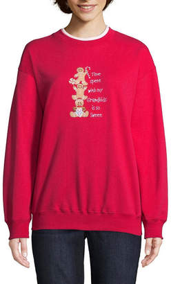 MC2 Saint Barth Ugly Christmas Sweater Womens Crew Neck Long Sleeve Sweatshirt