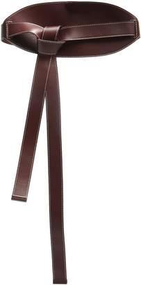 Roksanda Knot-detail leather belt
