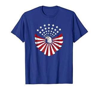 American Bald Eagle USA Vintage Flag Patriotic T-Shirt