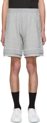 DSQUARED2 Grey Over Fit Shorts