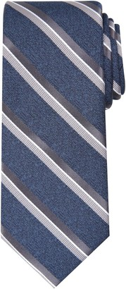 Haggar Men's Striped Heathered Extra-Long Tie