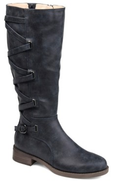 Journee Collection Carly Wide Calf Boot